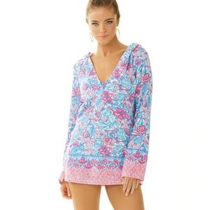 Lilly Pulitzer Terry Cloth Cover Up M